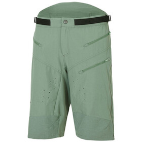 Ziener Efron X-Function Knee Long Shorts Men green mud